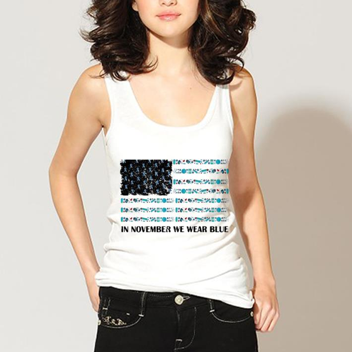 Original In November We Wear Blue Diabetes Awareness American Flag Shirt 3 1.jpg