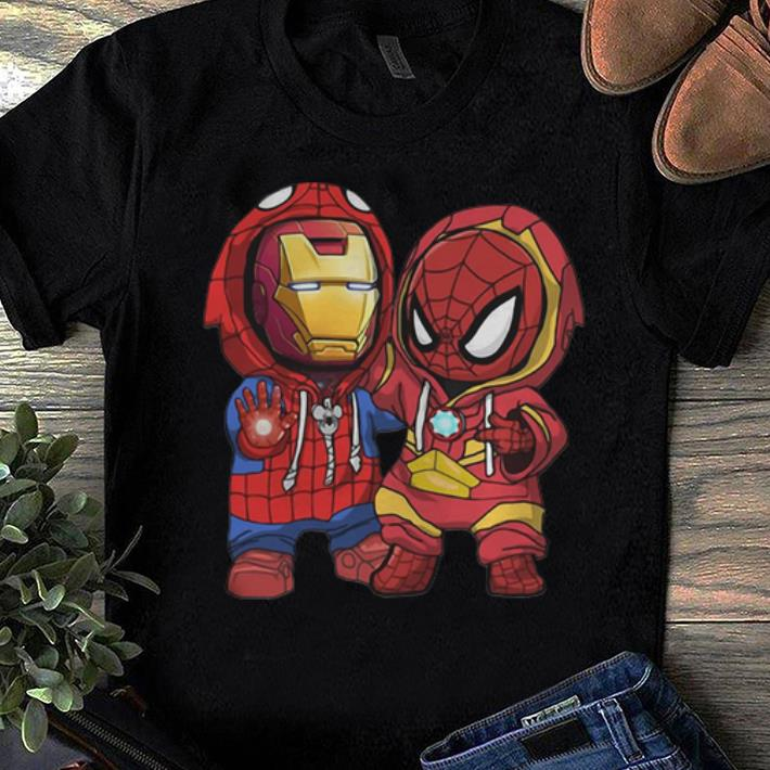 Premium Baby Iron Man And Spider Man Marvel Shirt 1 1.jpg
