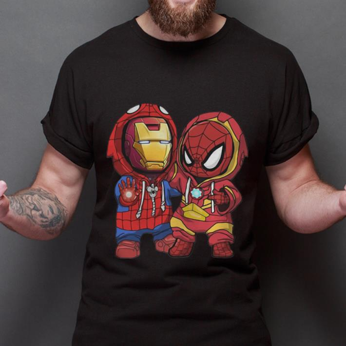 Premium Baby Iron Man And Spider Man Marvel Shirt 2 1.jpg