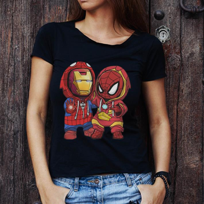 Premium Baby Iron Man And Spider Man Marvel Shirt 3 1.jpg