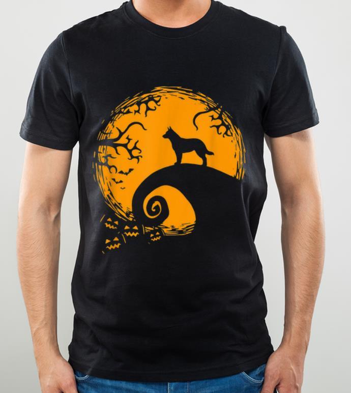 Premium Heeler And Moon Halloween Costume shirt