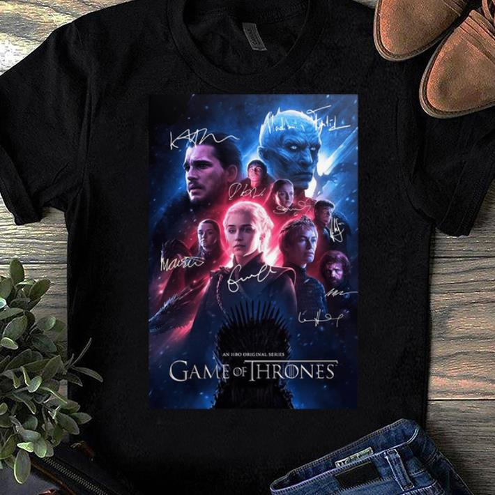 Pretty Game Of Thrones An Hbo Original Series Signatures Shirt 1 1.jpg