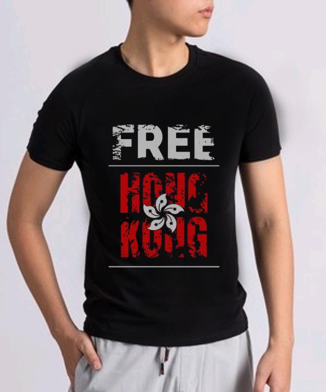 Awesome Free Hong Kong Democracy Flag Shirt 2 1.jpg