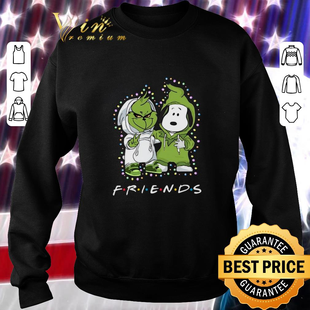 Awesome Friends Baby Grinch and Snoopy shirt