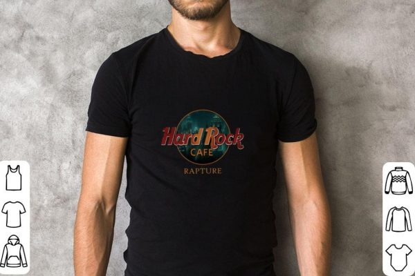 Hot Hard Rock Cafe Rapture shirt