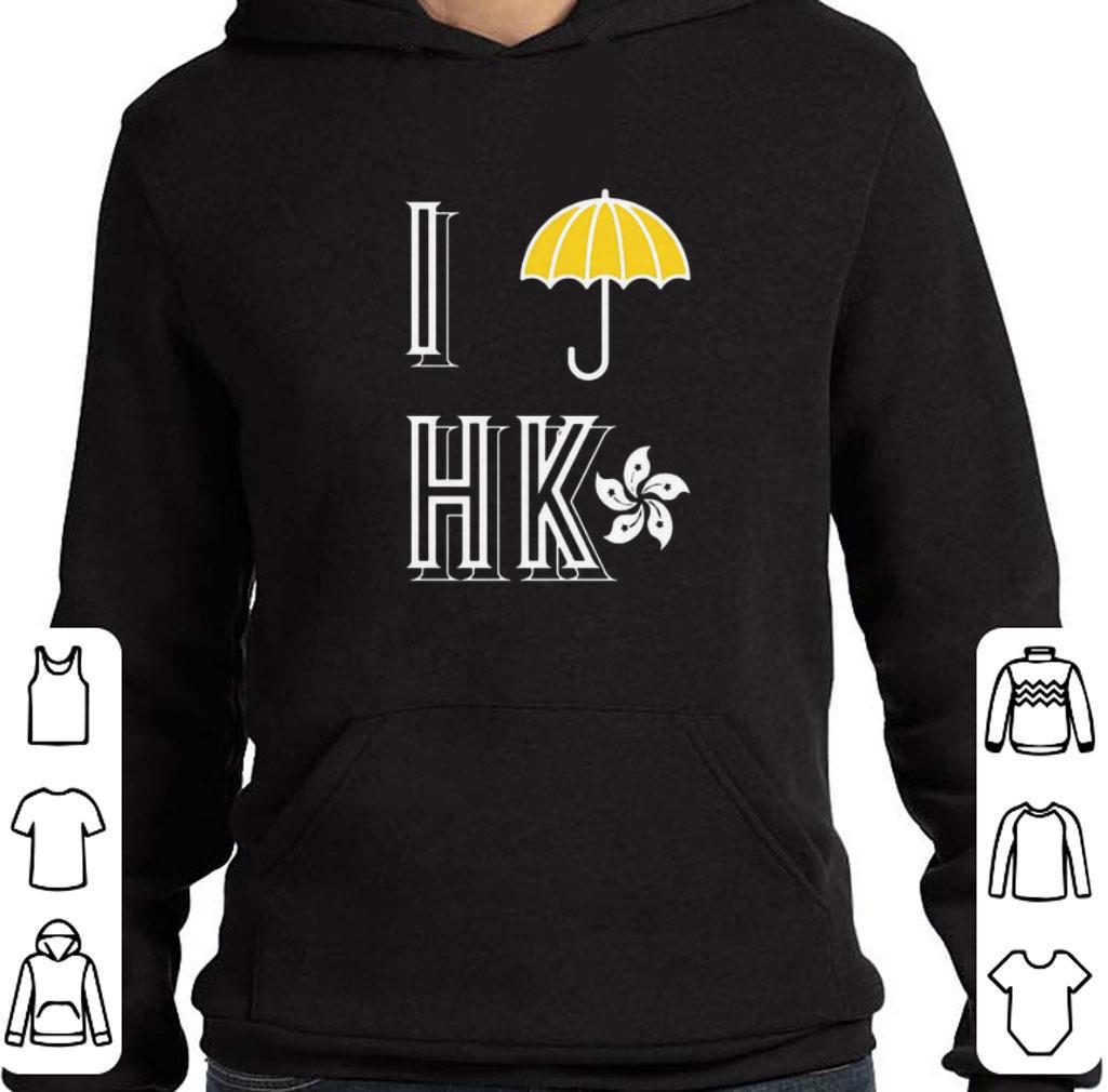 Hot Yellow Umbrella I Protest Hong Kong flag shirt