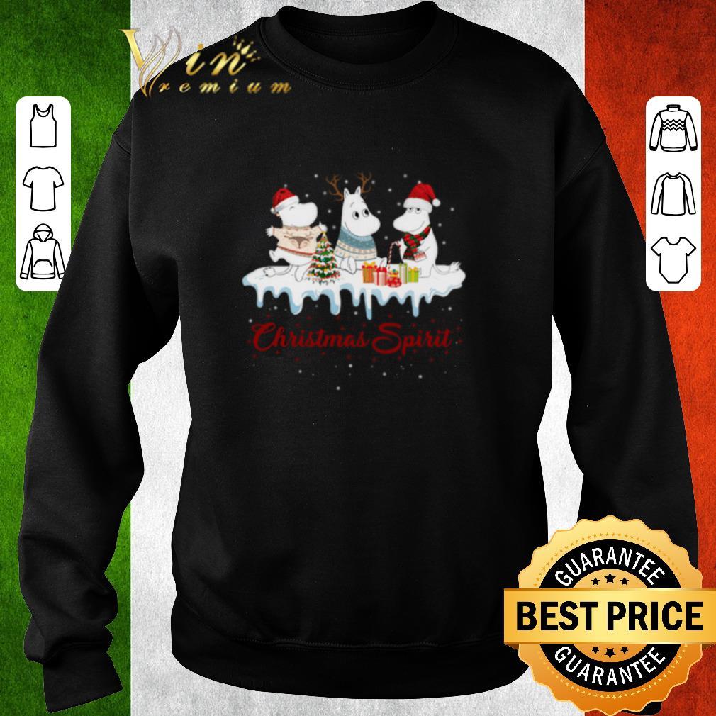 Nice Moomin Christmas Spirit shirt