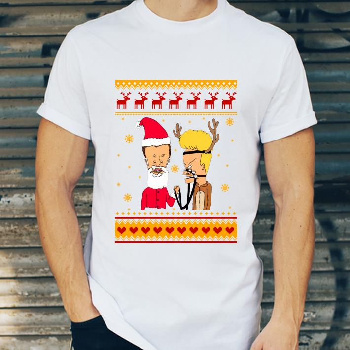 Official Ugly Christmas Beavis And Butthead shirt
