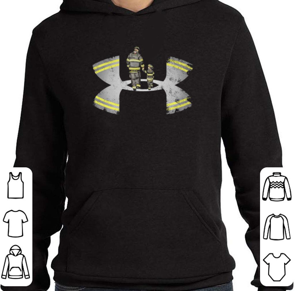 Official Under Armour fighter father and son shirt