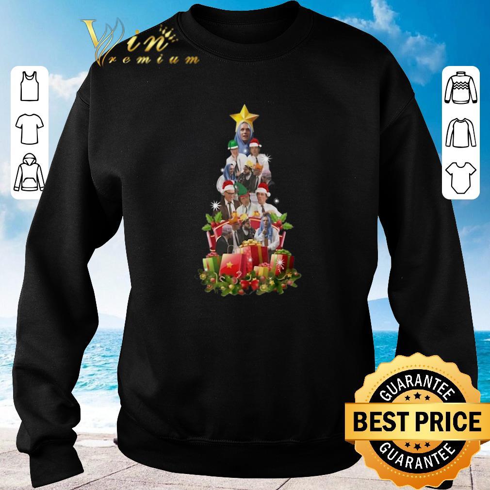 Pretty Bottom Holy Christmas tree shirt