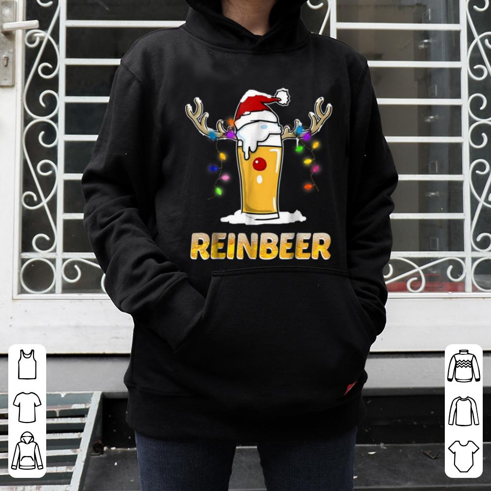 Pretty Reinbeer Funny Christmas Gift For Beer Lovers shirt