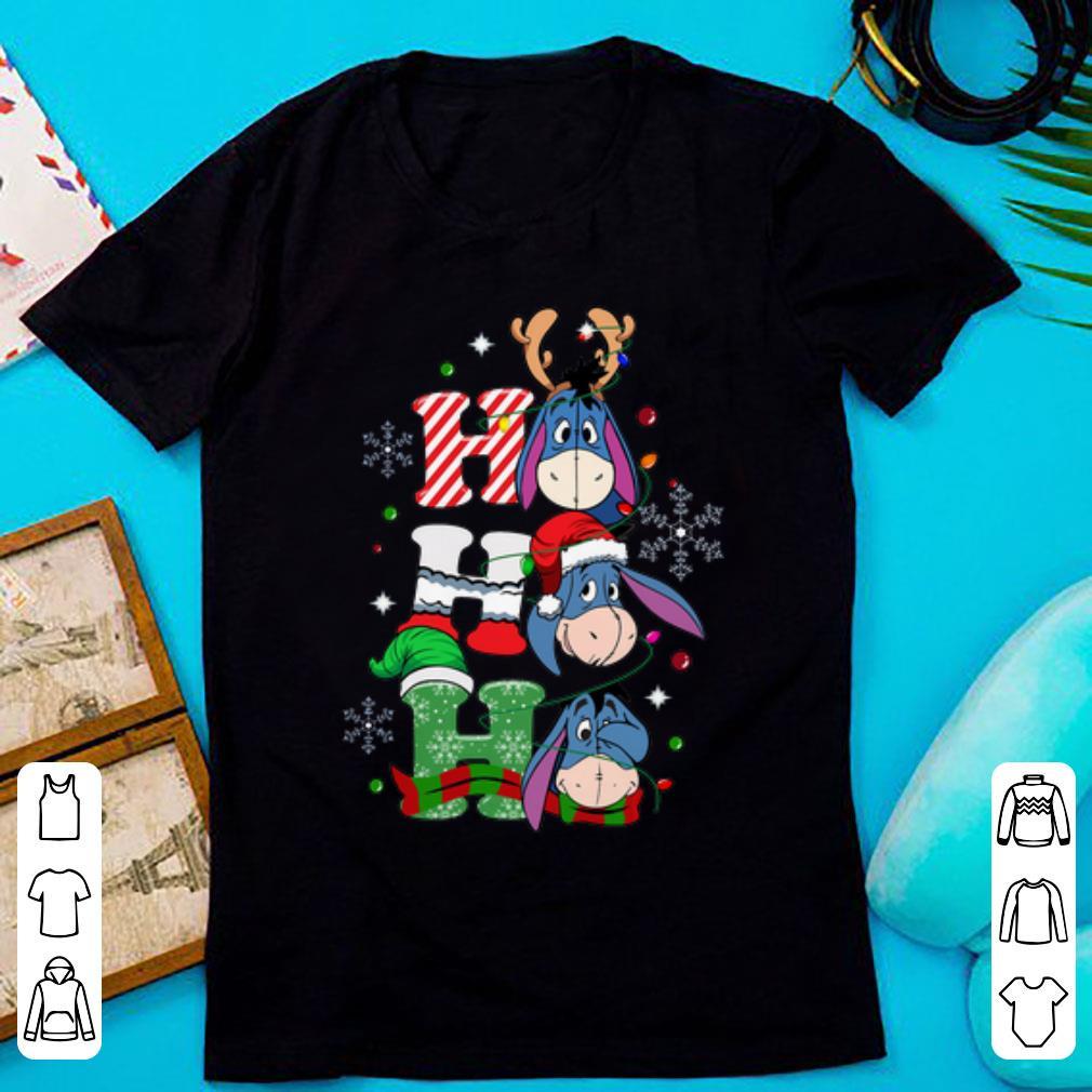 Top Santa Eeyore Ho Ho Ho Christmas Shirt 1 1.jpg