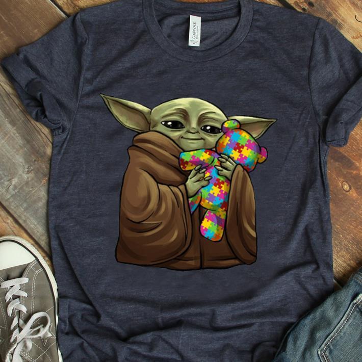 Awesome Master Yoda Hug Teddy Autism Awareness Shirt 1 1.jpg