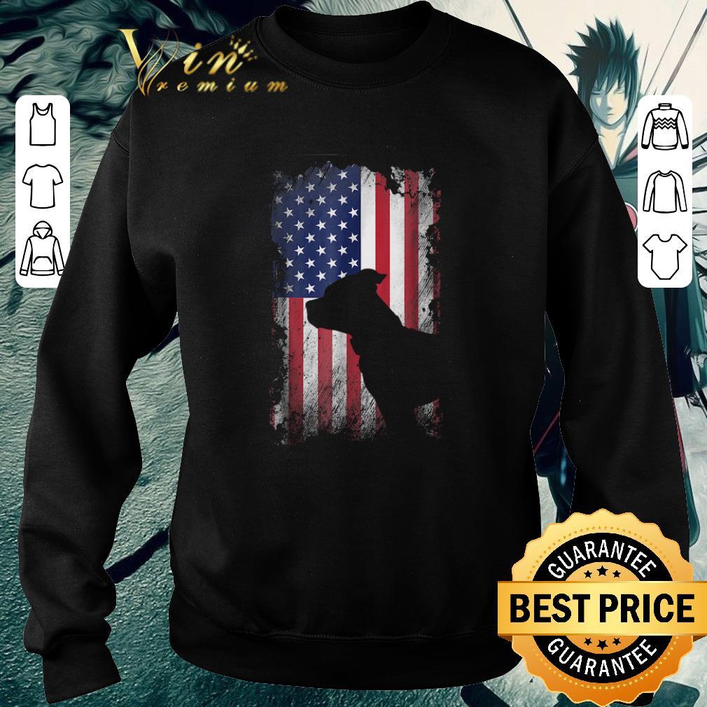 Premium American Flag Pitbull Terrier USA Flag shirt