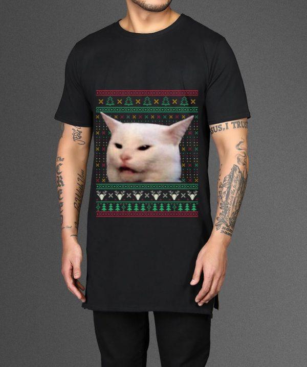 Pretty Woman Yelling At A Cat Meme Ugly X Mas Shirt 2 1.jpg