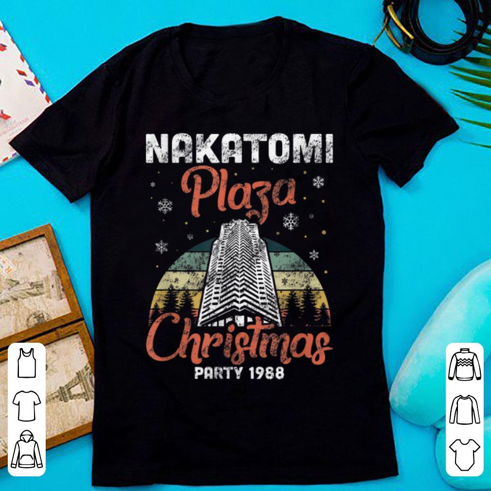 Top Nakatomi Plaza Christmas Party 1988 Vintage Shirt 1 1.jpg