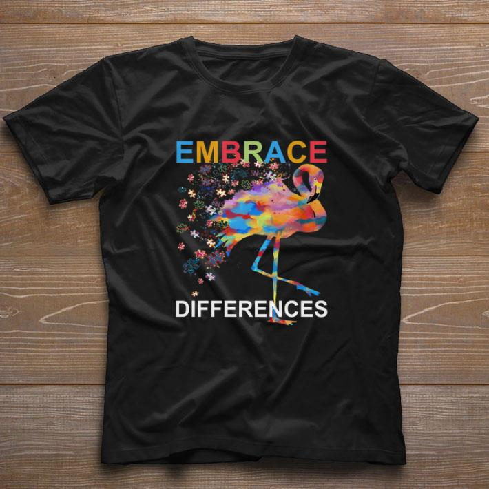 Awesome Flamingo Embrace Differences Autism Awareness Shirt 1 1.jpg