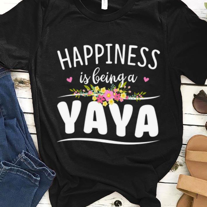 Nice Happiness Is Being A Yaya Floral Shirt 1 1.jpg
