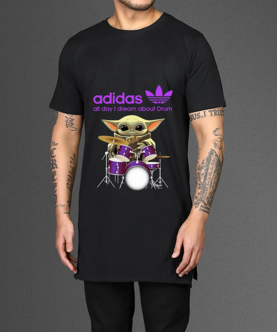 Awesome Baby Yoda Adidas All Day I Dream About Drum Shirt 2 1.jpg