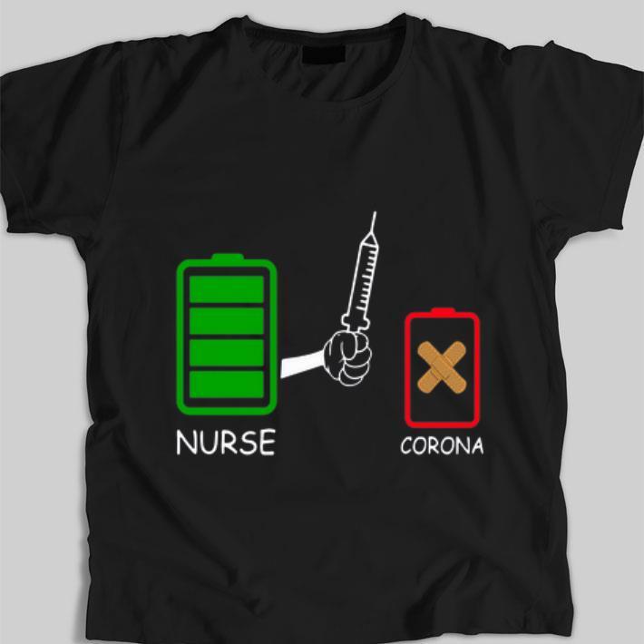 Awesome Battery Source Nurse And Coronavirus Covid 19 Shirt 1 1.jpg