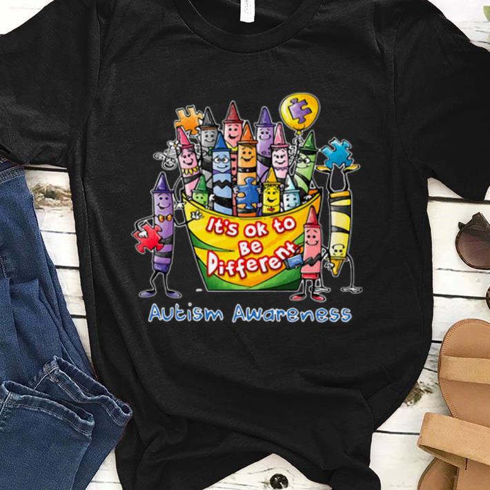 Beautiful Pencil It S Ok To Be Different Autism Awareness Shirt 1 1.jpg