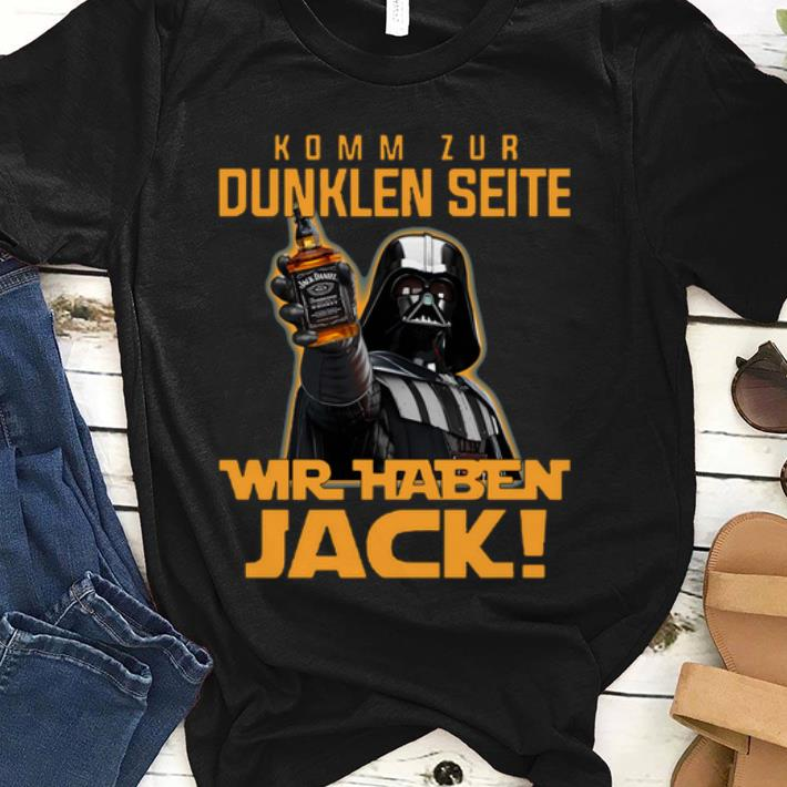 Premium Komm Zur Dunklen Seite Wir Jack shirt