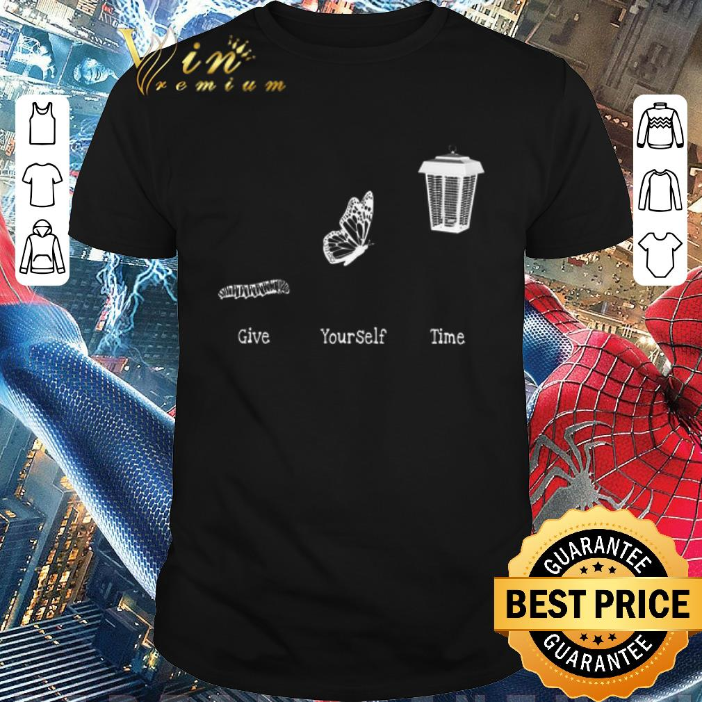 Premium Bug Butterfly Give Yourself Time Shirt 1 1.jpg