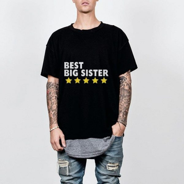 Best Big Sister shirt