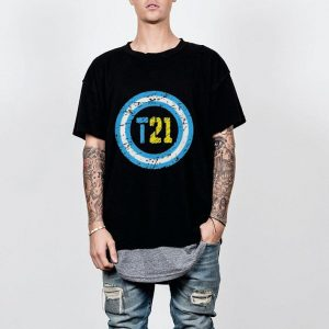 Down Syndrome Awareness Superhero T21 shirt