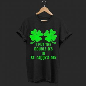 Irish Shamrock Boobs St Paddy's Day shirt