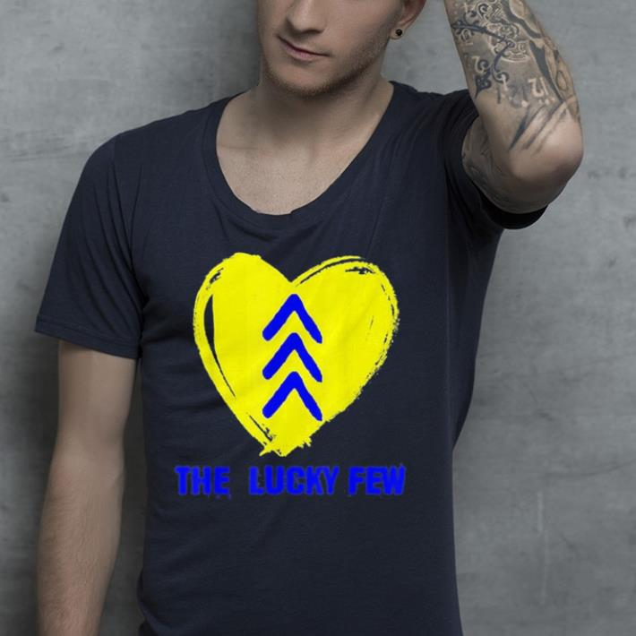 Lucky Few Three Arrows Heart Down Syndrome Awareness shirt 4 - Lucky Few Three Arrows Heart Down Syndrome Awareness shirt