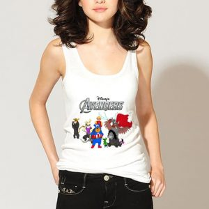 Disney Avengers Winnie The Pooh Style shirt 2