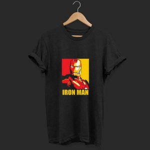 Iron Man Red and Gold shirt