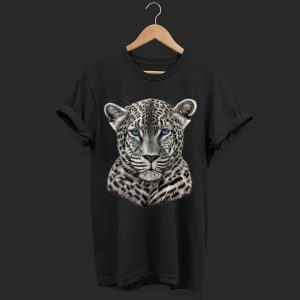 Leopard with Blue Eyes  shirt