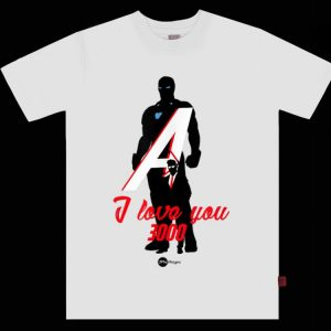 Love you 3000 Avenger Iron dad End Game shirt