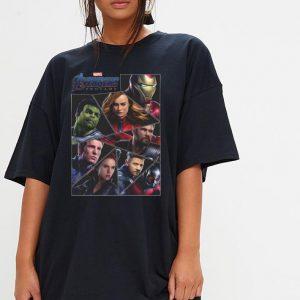 Marvel Avengers Endgame Broken Character Panels shirt 2