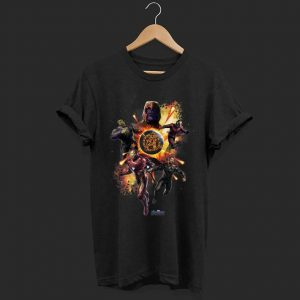 Marvel Avengers Endgame Planet Explosion shirt