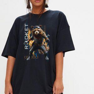 Marvel Avengers Endgame Rocket Action Pose shirt 2