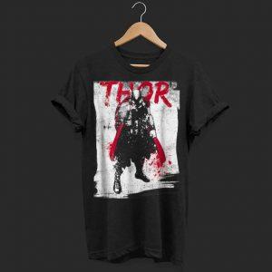 Marvel Thor Grunge Paint Splatter shirt