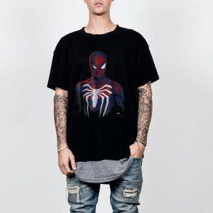 Marvel's Spider-Man Game Grunge Portrait shirt
