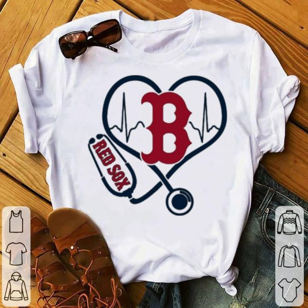 Nurse Boston Red Sox heart shirt