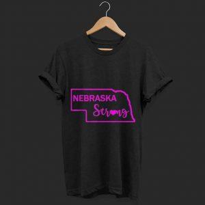 Purple nebraska strong shirt