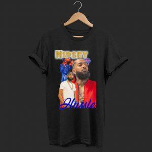 Rapper Nipsey Hussle shirt