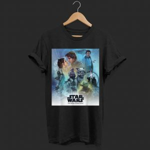 Star Wars Celebration Mural Empire Strikes Back shirt