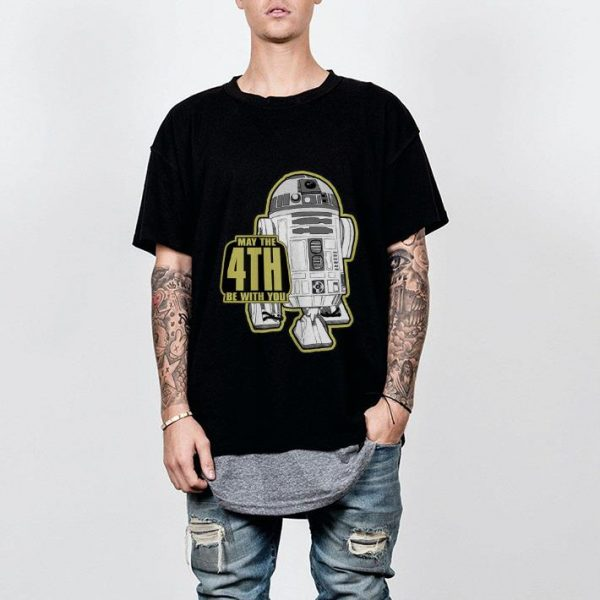 Star Wars R2-D2 May The 4th Be With You  shirt