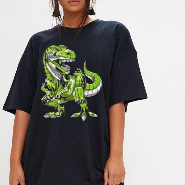 T-Rex Dinosaur Robot shirt