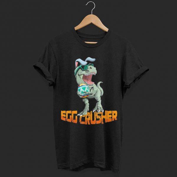 T-rex Dinosaur Egg Crusher shirt