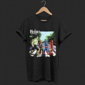 The Heros Avenger round shirt