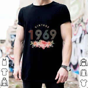 Vintage 1969 flowers shirt