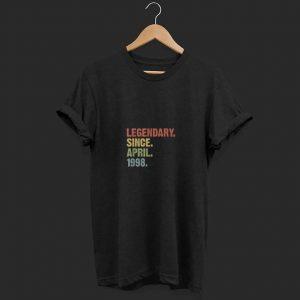 Vintage Legendary Since April 1998 shirt